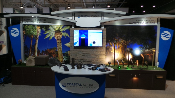 Coastal Source Canada's Display at the Toronto Landscape Show 2014