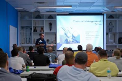 In Class Training at our Florida Offices